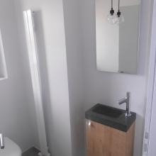 WC radiateur eau chaude